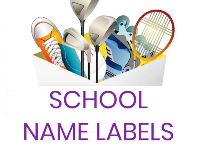 Put An End To Your Mountain Of Lost Property With School Name Labels From Label Planet