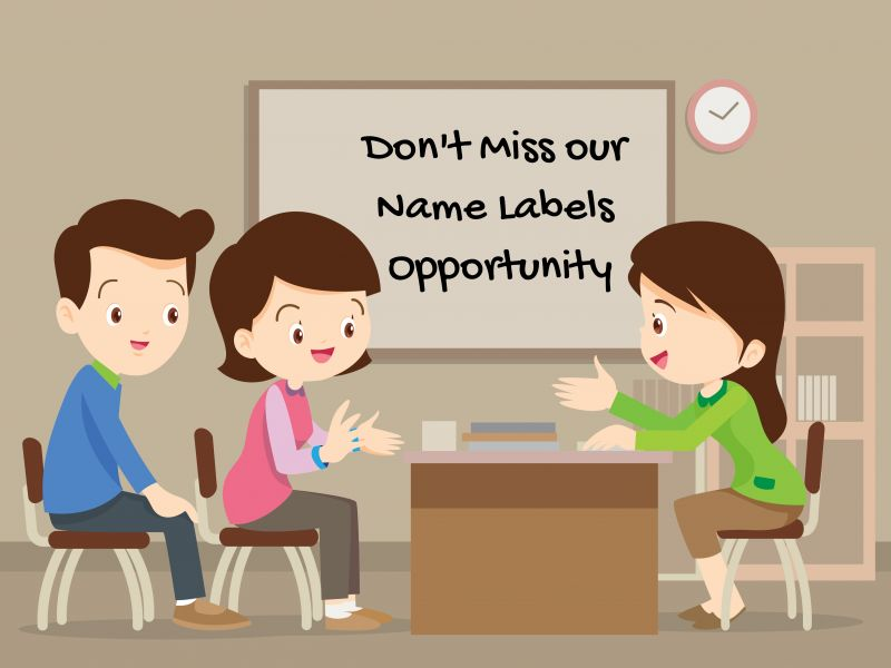 Name Labels – A Perfect Fundraising Opportunity For Schools, PTAs, & Activity Groups
