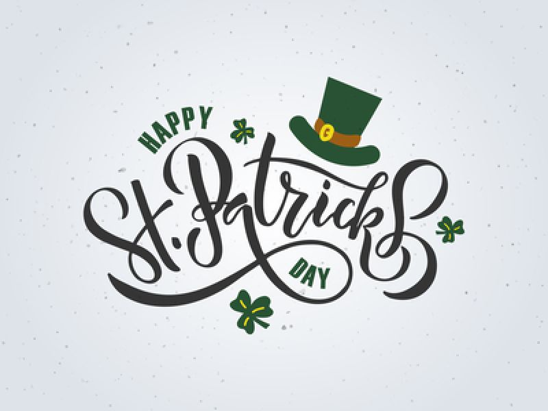 Happy Saint Patrick's Day To One & All!