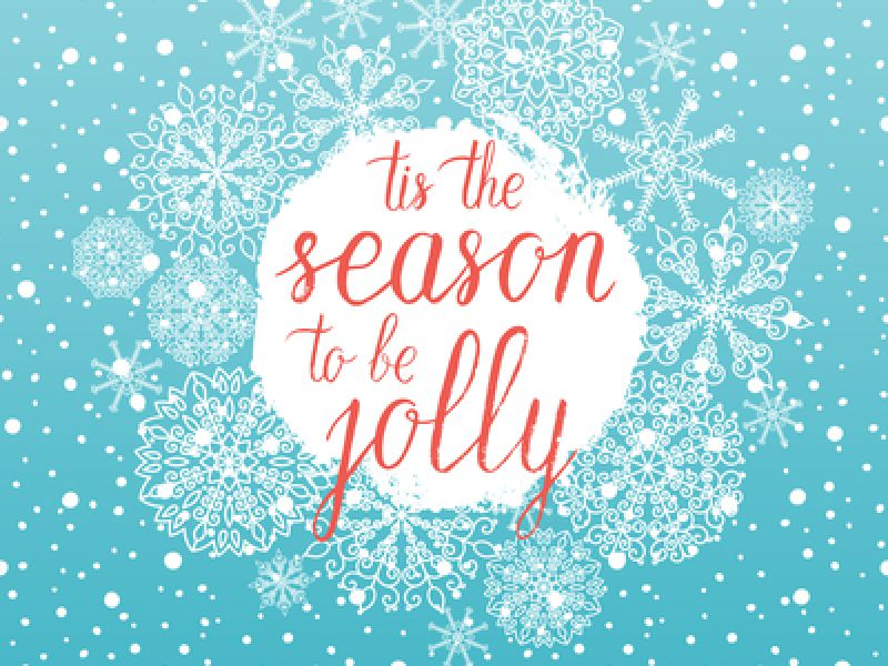 December Is Here! Which Means 'Tis The Season To Be Jolly (& Make A Note Of This Year's Last Posting Dates)!