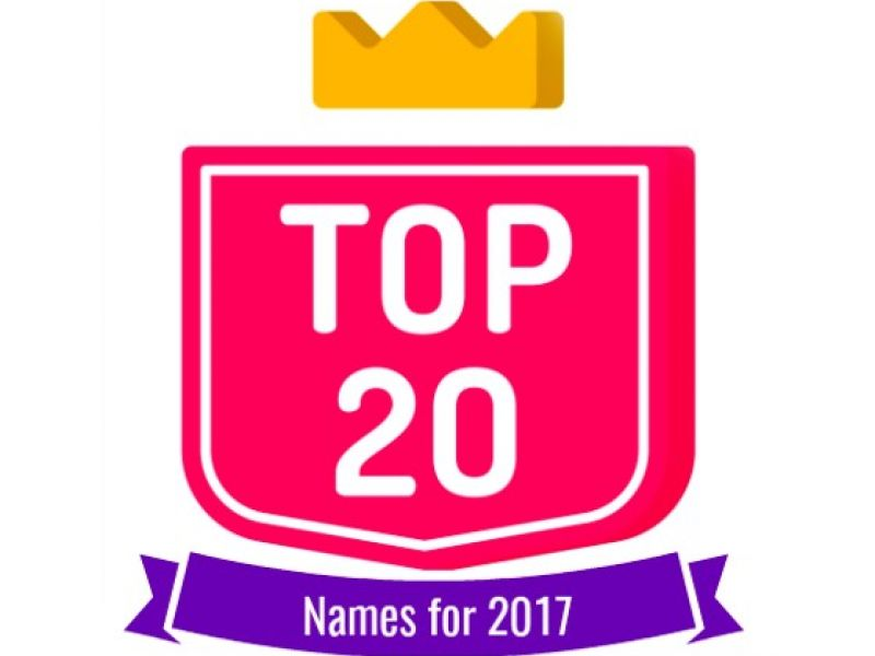 Our Most Requested Name Labels of 2017!