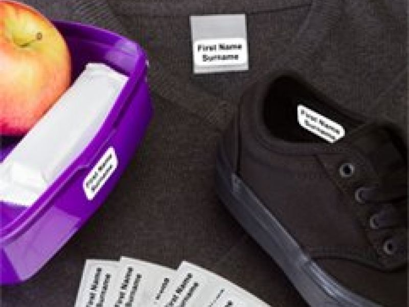 Stikins ® Name Labels; The Truly Multipurpose Clothing Name Labels That Simply Sticks In & Stays In