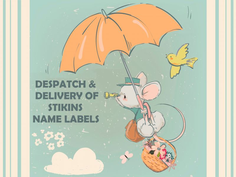 A Despatch & Delivery Update From Stikins Name Labels