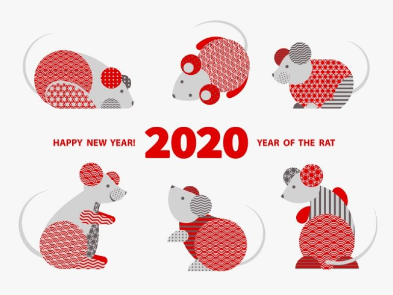 Happy Chinese New Year From Stikins Name Labels! It's The Year Of The Rat!