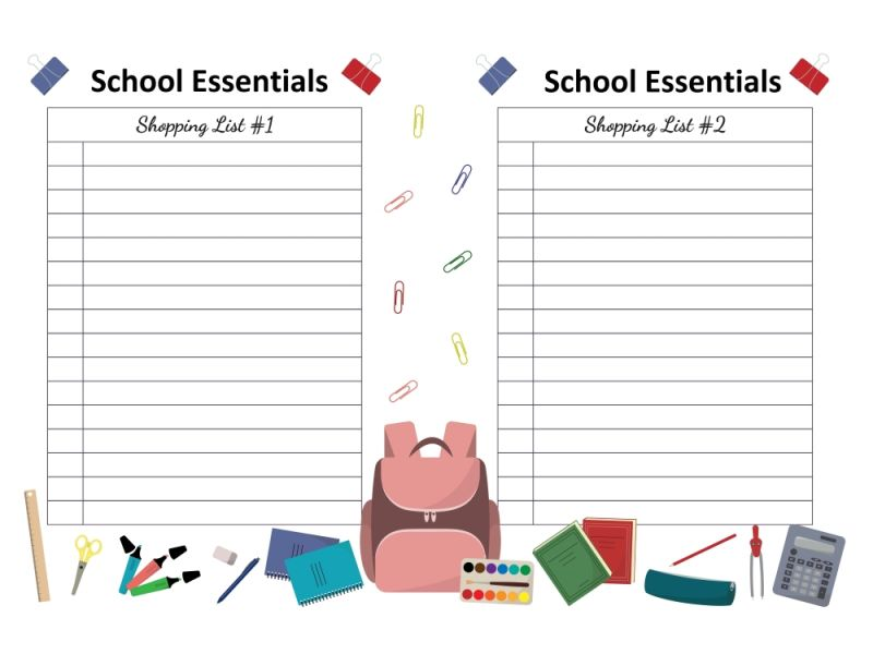Reasons To Add Name LabelsTo Your List Of Essential School Kit