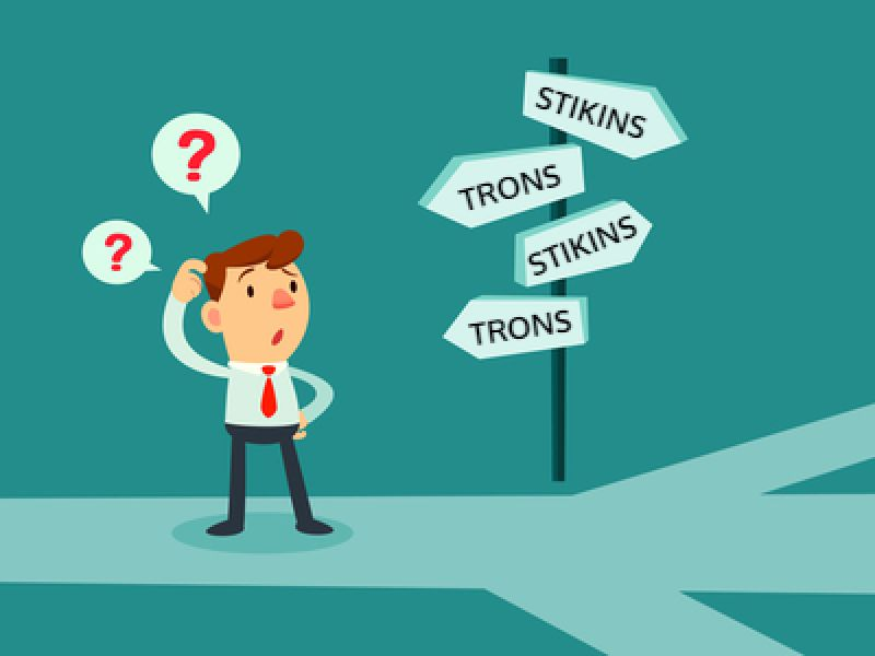 To Use Stikins ® Or To Use Trons ® – That Is The Question…