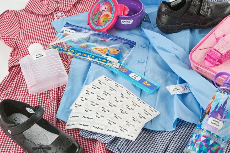 Learn how Stikins name labels can label all your children's belongings
