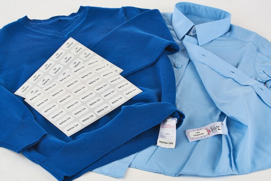 School Uniform Labels by Stikins