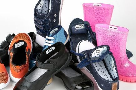 Kids labels for shoes