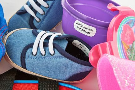 Name Tags for Kids Shoes