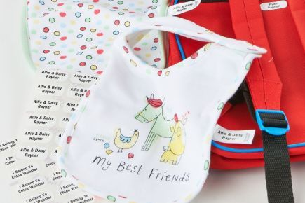 Name Tags for Kids - Toddlers
