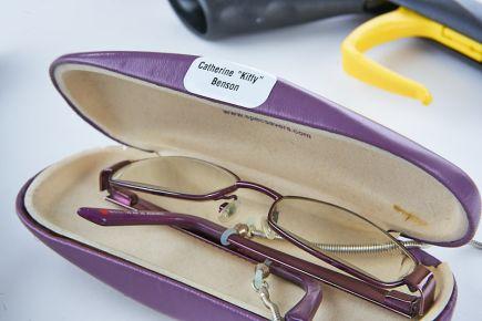 Nursing Home Name Labels - Glasses Case Labels