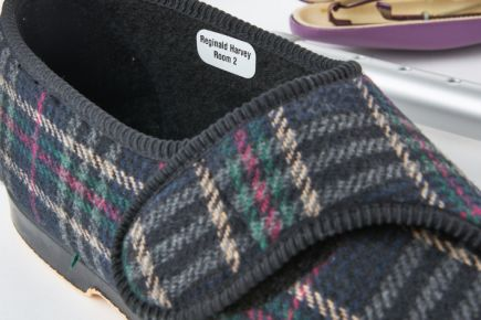 Nursing Home Name Labels - Slippers Name Labels