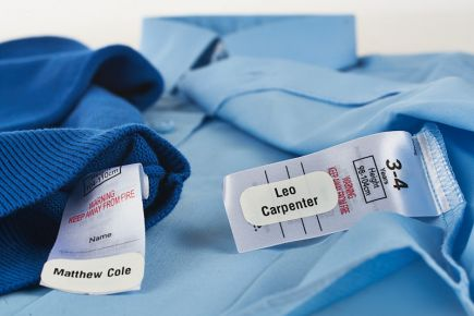 School Uniform Labels - Jumpers and Shirts