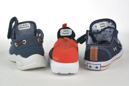 Shoe Labels - Stick Under Tongue Of Shoe