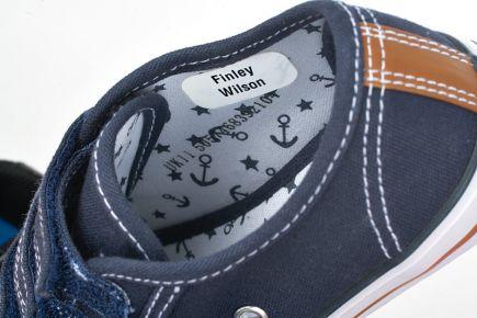Stikins Shoe Labels - Stick To Side Wall